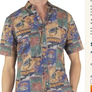 🎈 Tori Richard Floral Vacation Button Down Shirt